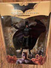 Batman Begins Collector Edition Action Figure Mattel 2005 Mib Dc Comics