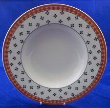 Villeroy & and Boch SWITCH PLANTATION SAHIB rimmed soup / dessert bowl 24cm