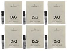 6 X D&G #6 L'Amoureux Dolce Gabbana Women Sample Vial 0.05 OZ 1.5 ML Edt Spray