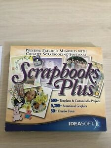 'Scrapbooks Plus' 2 CD by Ideasoft 2004/2005 Original package - fully functional