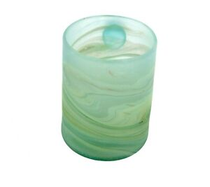 Light Green Phoenician Hand-blown Glass Mug DIY Made In Palestine