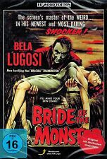 DVD NEU/OVP - Bride Of The Monster (Die Rache des Würgers) - Bela Lugosi - OmU
