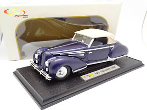 Signature Models 1/18 - Delahaye 135M 1947 Bleue