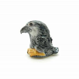 Ceramic Eagle Bird Finger Sewing Thimble Facial Animal Figure - THX022