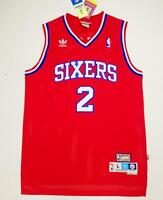 Moses Malone Philadelphia 76ers #2 Red jersey NWT