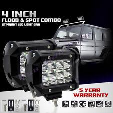 "PAIR 4"" 36W LED Work Light Car spot Bar ATV Boat Lamp Jeep Trucks Lamps Lights"