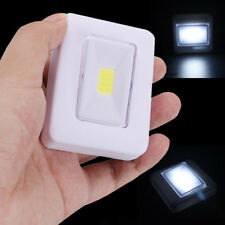 COB LED Cordless Creative Night Wall Light Switch Battery Operated Under Cabinet