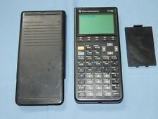 Texas Instruments Ti-85 Graphing Calculator with protective cover Free Shipping