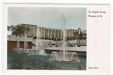 Los Angeles County Museum of Art California Color Tinted RPPC postcard