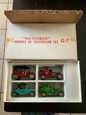 Matchbox Models of Yesteryear Set G-7 with Rare White Box