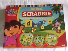 MATTE My First Scrabble, Dora The Explorer English & Spanish Edition, Complete