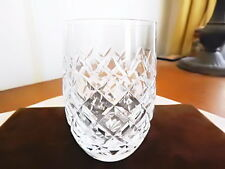 Waterford Crystal POWERSCOURT Flat 10 Oz Tumbler Glass Wine (S)  - NICE!