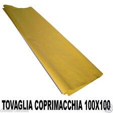250 TOVAGLIE 100X100 COPRIMACCHIA RISTORANTE CARTA GIALLA PAGLIA KG.20