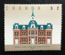 Canada #1376 14.6x14 MNH, N.S. Normal School Architecture Definitive Stamp 1994
