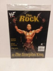 "THE ROCK: MAGAZINE DWAYNE ""THE ROCK"" JOHNSON: 2002 + DOC SAVAGE #1 FREE SHIPPING"