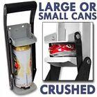 16oz 500ml Aluminum Can Crusher with Bottle Opener Soda Pop* Beer Wall Mount New