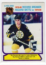 1X RAY BOURQUE 1980 81 O Pee Chee #2 RC Rookie NRMT RC Record Breaker BRUINS