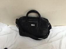 NWT Cross Cordoba AC111052-1 Slim Briefcase Black Leather $179.95