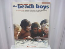 Beach Boys Very Best of Piano Vocal Guitar Sheet Music Song Book Songbook