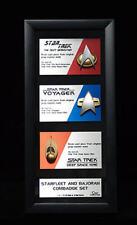Star Trek Communications Badge Replica Set Artisan Edition