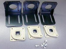 3x Nema 17 Metal Mounting Brackets with 3 Dampers Stepper Motor 3D Printer CNC