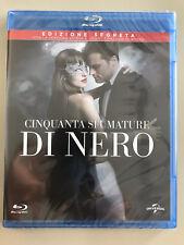 Blu Ray 50 CINQUANTA SFUMATURE DI NERO (2017) NUOVO EDIZIONE SEGRETA