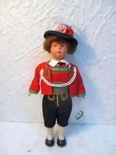 Ancienne poupée folklorique autrichienne de collection