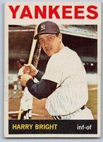 1964  HARRY BRIGHT - Topps Baseball Card # 259 - NEW YORK YANKEES