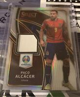 2020 Select Euro UEFA Paco Alcacer Silver Relic