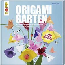 Origami Garten - Blumen & Tiere aus Papier falten / Bastelbuch + 20 Faltblätter