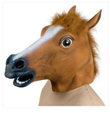 Horse Head Mask Latex Costume Prop Gangnam Style Toys Party Halloween fee HELMET