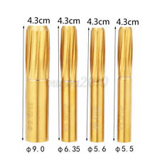 5.5-9mm Rifling Button 12 Grooves Tungsten Steel Chamber Helical Reamer Tool