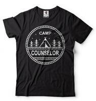 Camping T-shirt Camp Counselor Shirt Summer Camp Counselor Tee Shirt