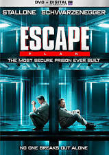 Escape Plan 2013 R Action Thriller DVD Movie Stallone Schwarzenegger in prison