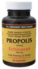 Y.S. Organic Bee Farms Propolis 400 mg with Echinacea 400 mg 60 caps