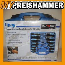 Cofre herramientas Destornillador set Caja de 12 piezas