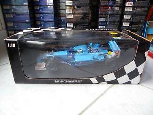 Benetton Renault B201 Giancarlo Fisichella #7 2001 1/18 MINICHAMPS F1 IN Box