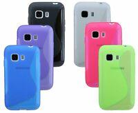 Gel Silikonschutzhülle Silikontasche für Samsung Galaxy Young 2 G130HN + Folien
