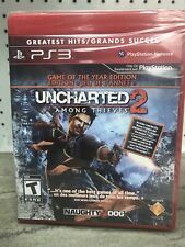 Uncharted 2 Among Thieves Game of the Year Edition PS3 Playstation 3 Video Game