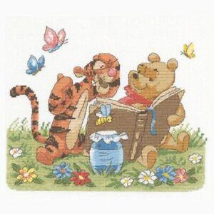 Classic Winnie the Pooh  Disney Collection_ Cross Stitch Pattern