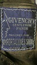 vintage Givenchy tweed herringbone pattern brown sport coat EUC 40 R