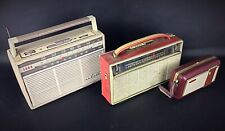 Lot de  3 postes radio vintage anciens collection TSF transistor