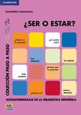 SER O ESTAR?/ BEING OR TO BE? - ZARZALEJOS, ALEJANDRO - NEW PAPERBACK BOOK