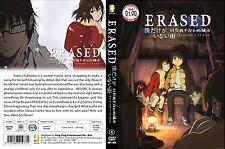 DVD Anime ERASED Episode 1 - 12 End English Subtitle ALL Region NTSC