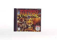 SPORTSMAN'S PARADISE II 2 - 1999 HUNTING SHOOTING PC GAME ORIGINAL JC EDITION DW