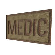 MEDIC tan coyote EMS MED PARAMEDIC MEDICAL bordado parche touch fastener patch