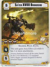 Warhammer 40000 Conquest LCG - Sa'cea XV88 Broadside  #086 - Zogwort's Curse