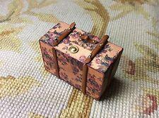 Pat Tyler Dollhouse Mini Bag Luggage Suitcase Satchel Valise Grip Large p543