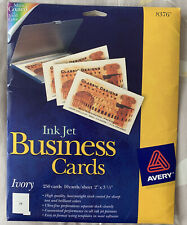 Avery Business Cards 2 X 350 Matte Ivory 210 8376 Open Box