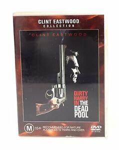 The Dead Pool (DVD, 1988) Clint Eastwood Region 4 Free Postage